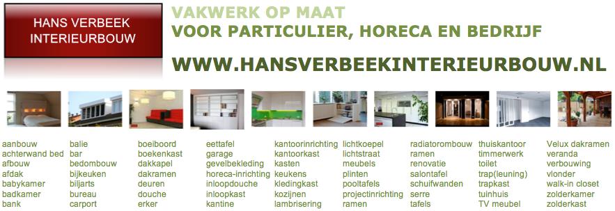 Betegelen Keuken Horeca : Hans Verbeek Interieurbouw Eindhoven website – werkzaamheden