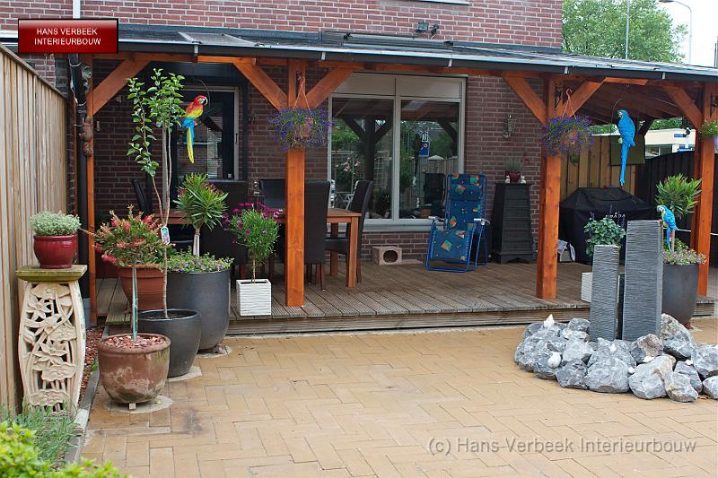 Afdak veranda vlonder img 0664 - Veranda met dakraam ...