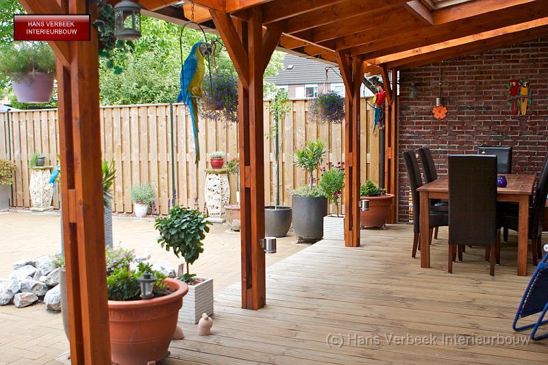 Afdak veranda vlonder img 0676 - Veranda met dakraam ...