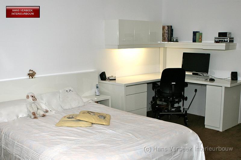 Bedombouw en thuiskantoor hoogglans wit img 0473 - Thuis kantoor ...