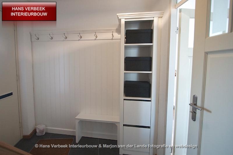 Garderobewand entree garderobekast hal - Decoratie entree van hal ...