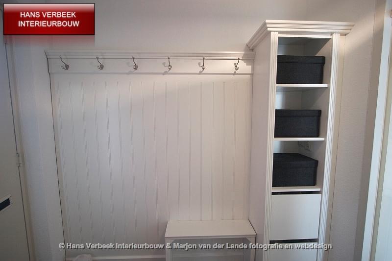 Garderobewand entree garderobekast hal - Schilderen voor entree en hal ...